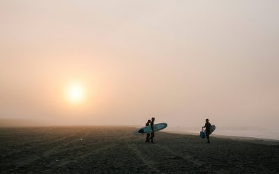 Surfing Headlong Into a New Life