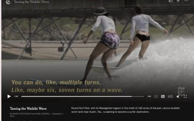 First-Person Surfer: My Test Drive of Artificial Waves