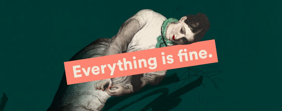 "On the ""Everything is Fine"" podcast"